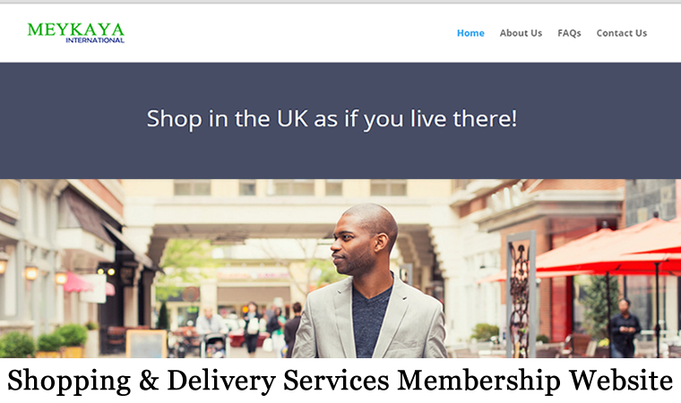 meykaya membership shopping and delivery business website